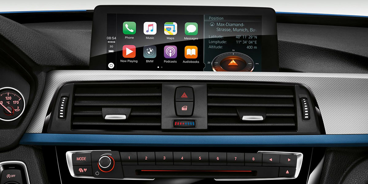 BMW no cobrará Apple CarPlay