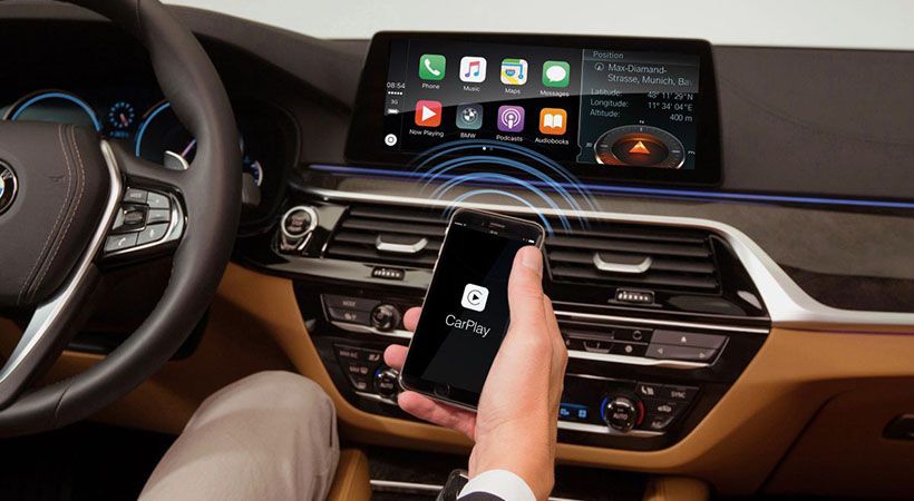 BMW no cobrará Apple CarPlay