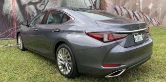 Test Drive Lexus ES 350 2020
