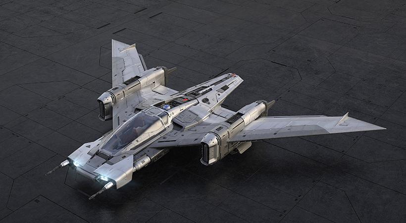 Tri-Wing S-91x Pegasus Starfighter,