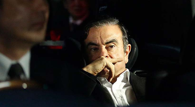 gran escape de Carlos Ghosn