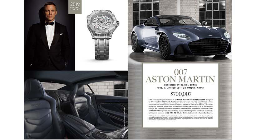 Regalo de Navidad Aston Martin