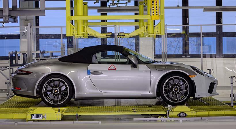 Porsche 911 generación 991