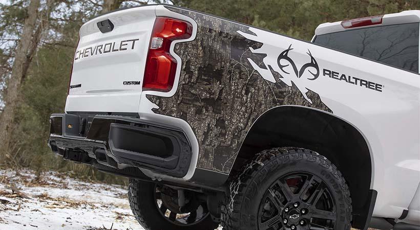 Chevrolet Silverado Realtree Edition 2021