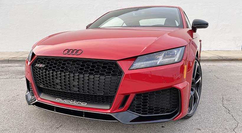 Test drive Audi TT RS 2019, lujo y poder en paquete ...
