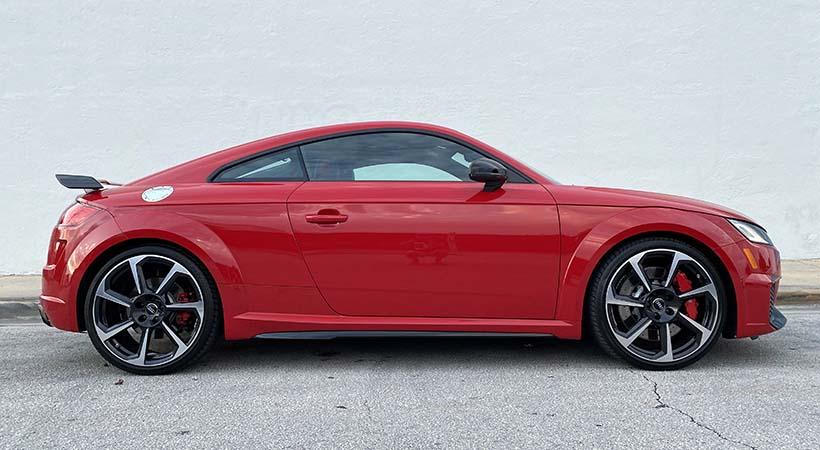Test Drive Audi TT RS 2019