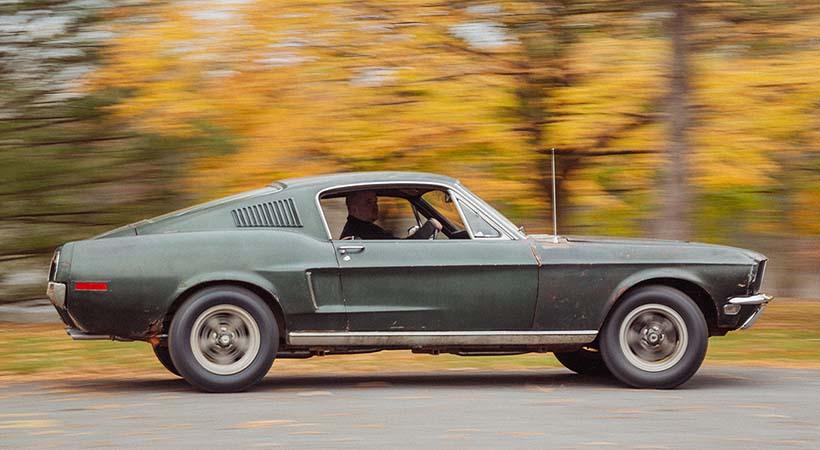 Bullitt Mustang 1968 original