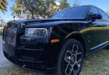 Cullinan Black Badge 2020