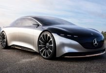 video Mercedes-Benz Vision EQS Concept.