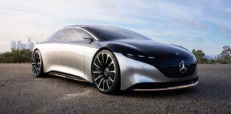 video Mercedes-Benz Vision EQS Concept.