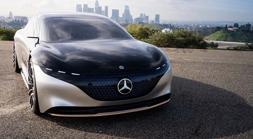 video Mercedes-Benz Vision EQS Concept