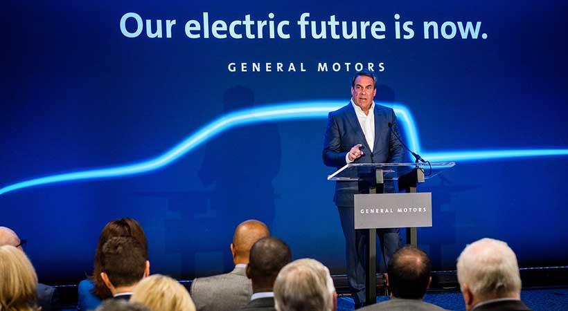 primera troca eléctrica de GM