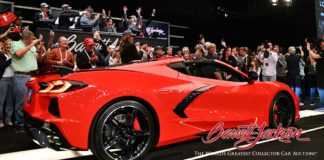 Chevrolet Corvette subastado