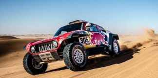 MINI ganó el Rally Dakar 2020 con Carlos Saenz al volante
