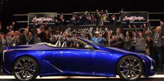 Lexus LC500 convertible 2021