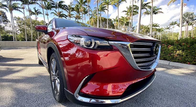 Test Drive Mazda CX-9 2020