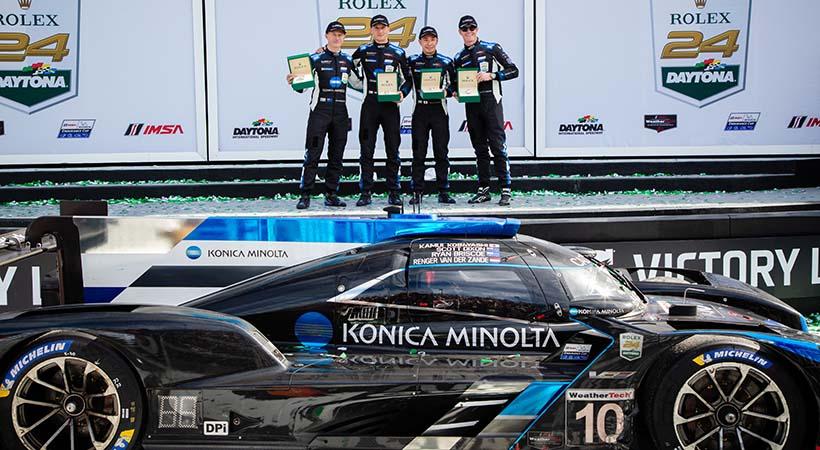Cadillac DPi-V.R No. 10 ganó la Rolex 24 at Daytona