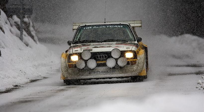 40 aniversario Audi quattro