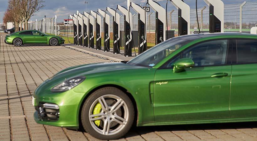 Porsche Turbo Charging