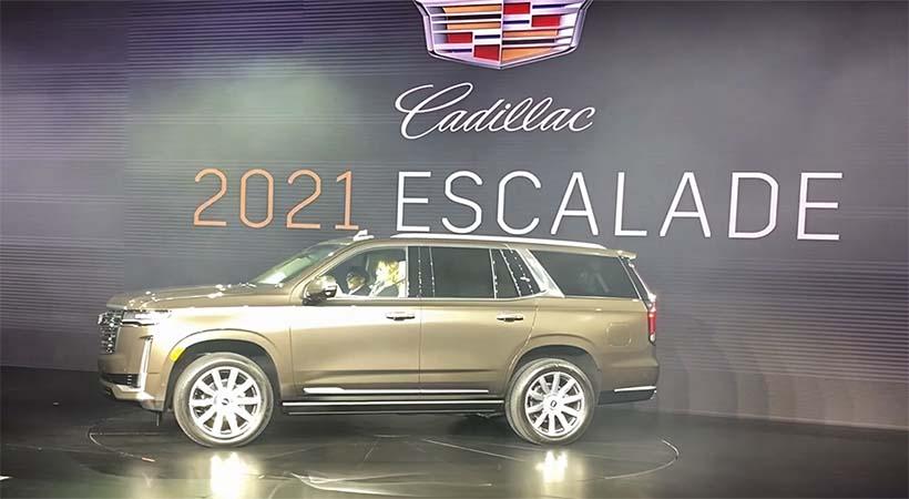 Debut Cadillac Escalade 2021
