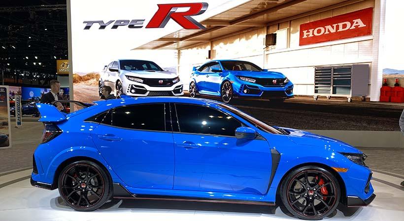 Honda Civic Type R 2020 en Boost Blue