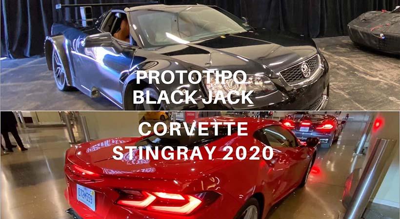 Historia Corvette Stingray 2020