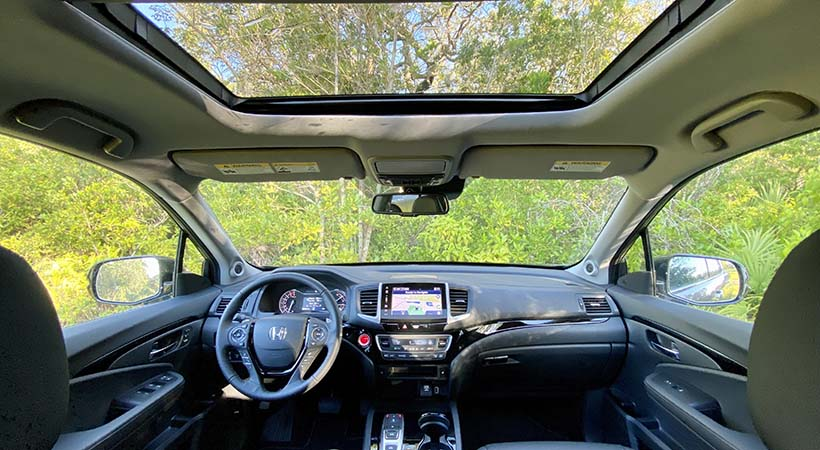 Test Drive Honda Ridgeline 2020