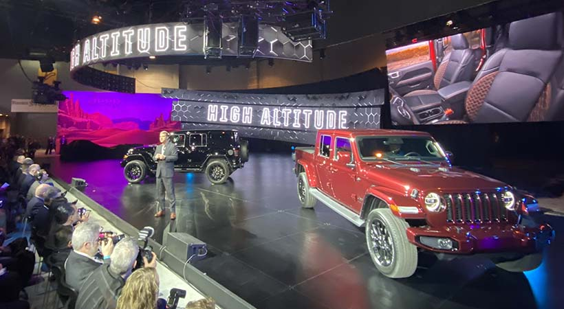 Triple debut Jeep en el Auto Show Chicago 2020