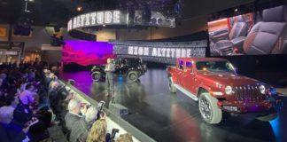 Triple debut Jeep en el Auto Show Chicago 2020