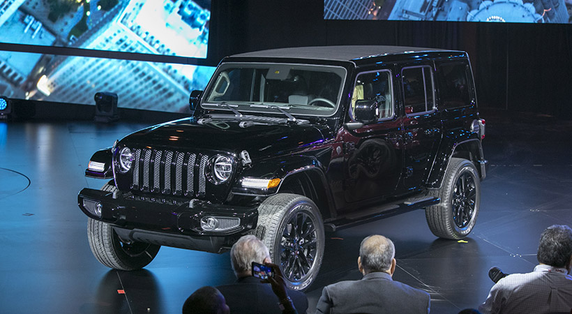 Triple debut Jeep