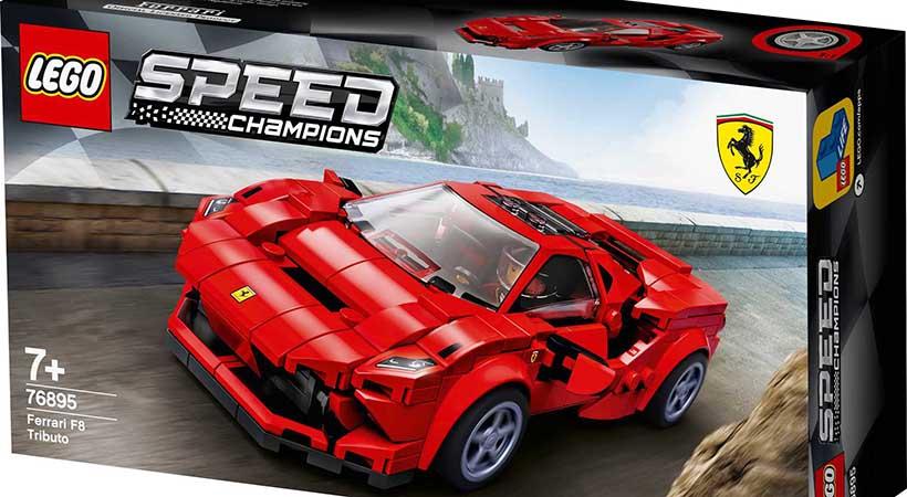 Ferrari F8 Tributo by Lego