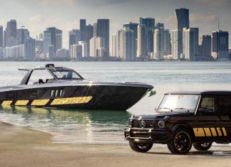 Mercedes-AMG y Cigarrete Racing, máximo poder en tierra y mar