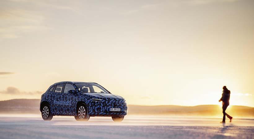 Mercedes-Benz EQA 2021 debutará en el Auto Show Ginebra