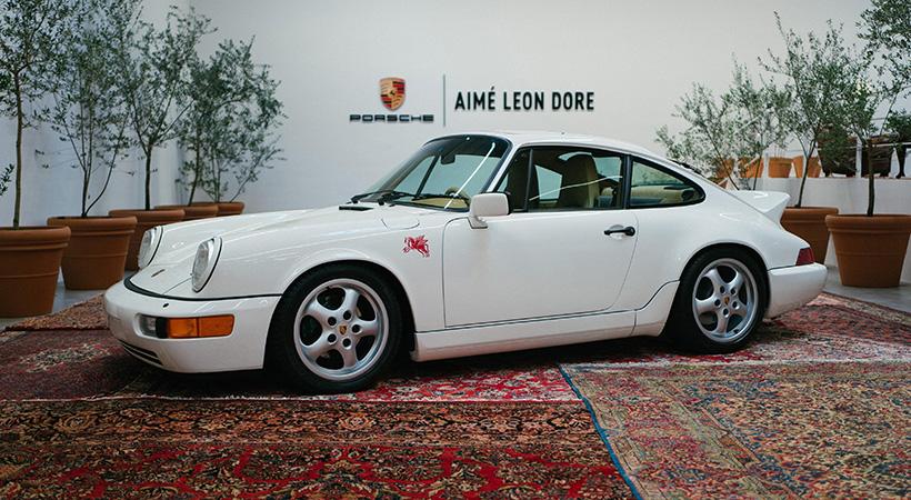 911 Carrera 4 por Aimé Leon Dore