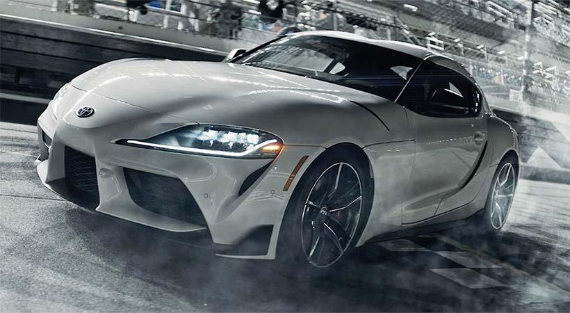 Video Toyota Supra 2021 en el Daytona Internacional Speedway