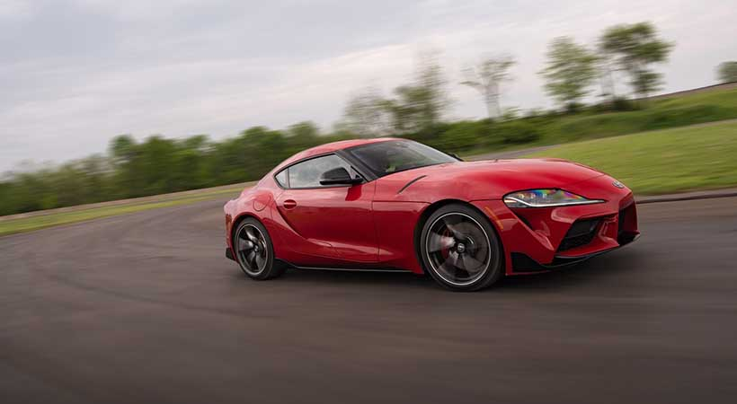 video Toyota Supra 2020
