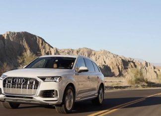 Test Drive Audi Q7 2020