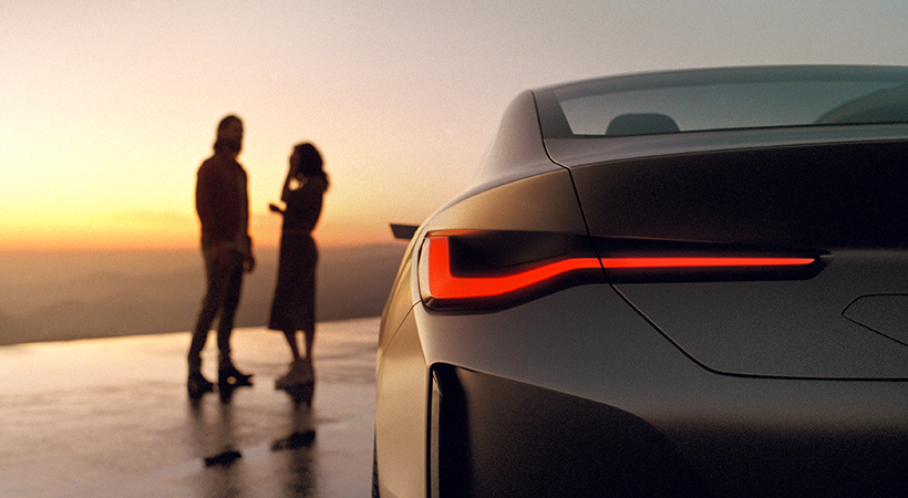 BMW Concept i4 un vistazo al futuro 100% eléctrico