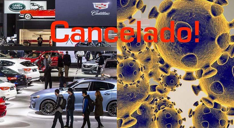 Cancelado por el coronoavirus