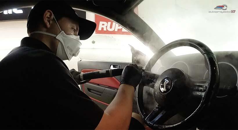 Video Car wash en tiempos del coronavirus