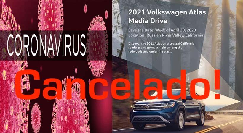 Cancelado por el coronavirus