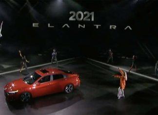 Debut virtual Hyundai Elantra 2021