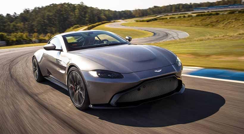 Aston Martin Vantage 2020, alto desempeño