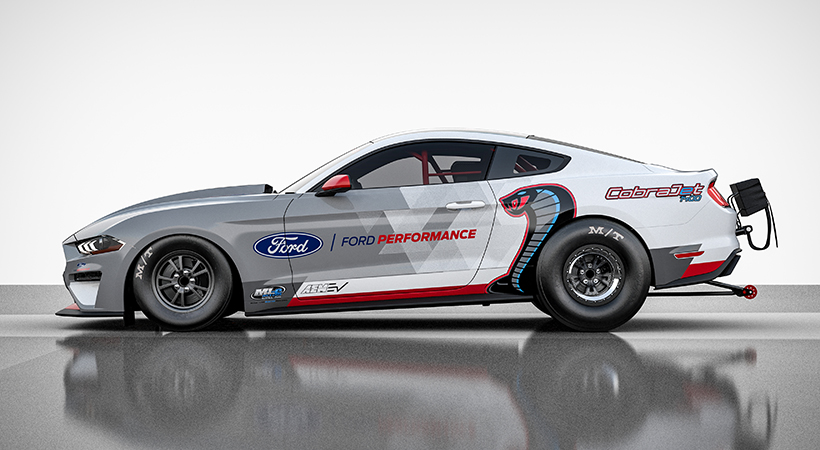 Ford Mustang Cobra Jet 1400. Foto: Ford.
