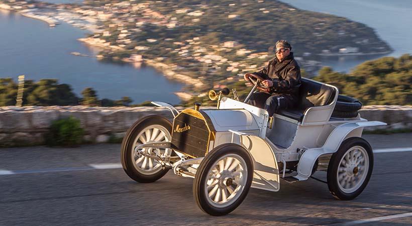 Historia del nombre Mercedes-Benz