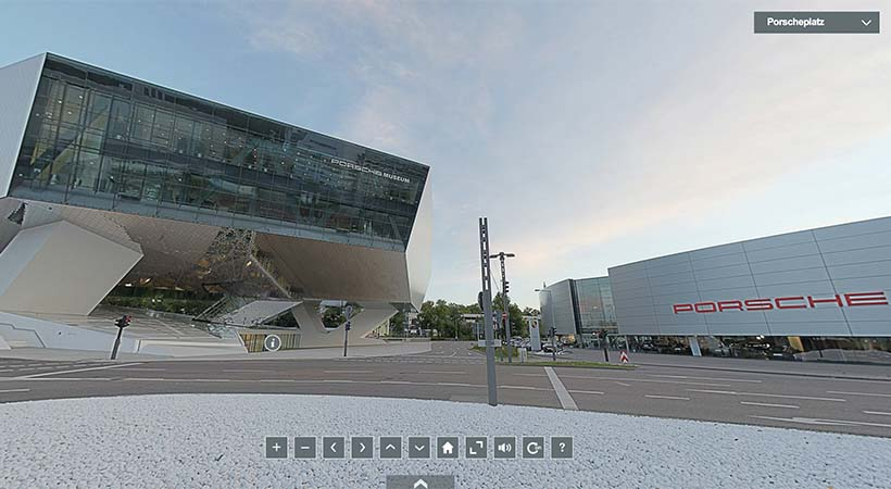 Tour virtual Museo Porsche en Stuttgart