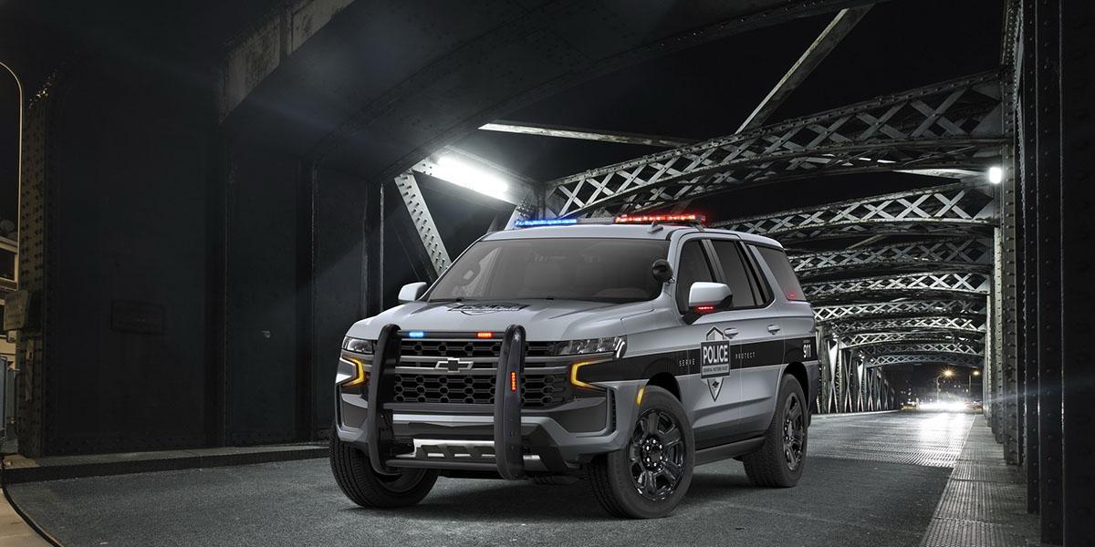 Chevrolet Tahoe Police 2021