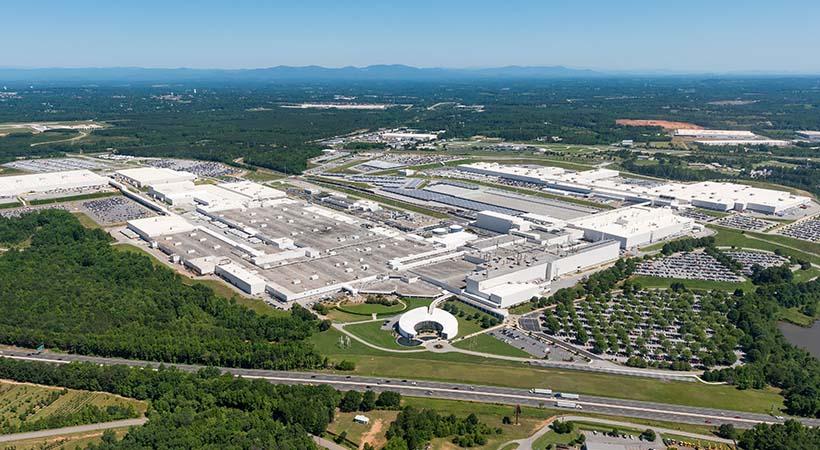 Planta BMW en Spartanburg