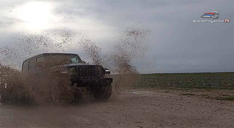 Jeep Wrangler Unlimited Rubicon EcoDiesel 2020. Foto: Javier Mota.