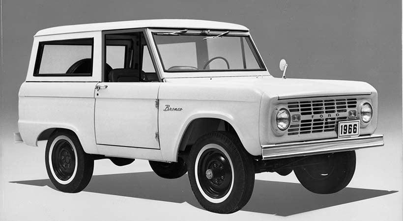 Historia Ford Bronco